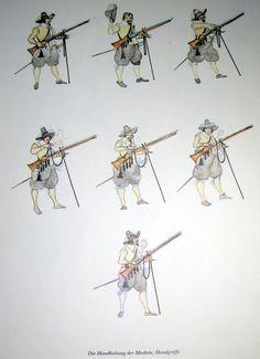 Handgriffe an der Muskete