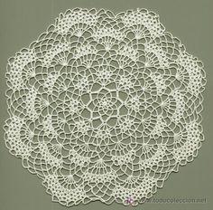 Explicaciones de tapetes en crochet - Imagui
