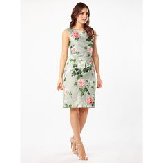 Explore our beautiful occasion wear dresses, from elegant dresses to party frocks at Debenhams. Occasion Wear Dresses, Day Dresses, Dresses Online, Evening Dresses, Elegant Dresses, Nice Dresses, Dresses For Work, White Sheath Dress, Rose Print Dress