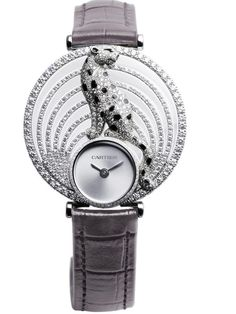 The Panther Prowls Again: Cartier Resurrects an Iconic Collection (Updated with Live Photos + Video) Stylish Watches, Luxury Watches, Watches For Men, Ladies Watches, Women's Watches, Harry Winston, Patek Philippe, Cartier Jewelry, Jewelery