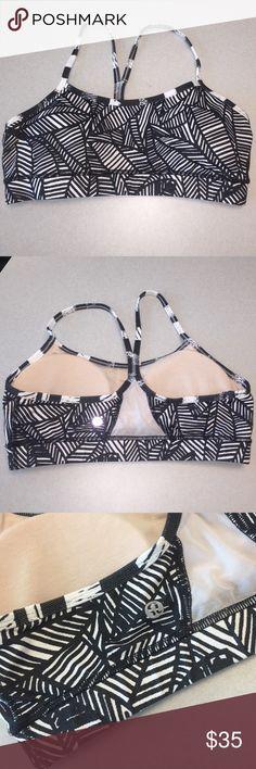 Lululemon Flow Y Bra Size 10 lululemon flow y bra great support with padding inside size 10 worn once lululemon athletica Intimates & Sleepwear Bras
