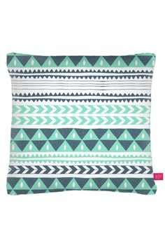 Winter Stripe Pillow Cushion / by Ohh Deer