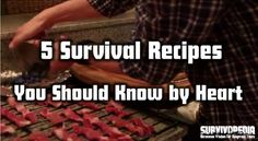 By Theresa Crouse– SurvivoPedia What do you do now if you want a recipe for something you don't know how to make? You go to the internet, or perhaps to a cookbook, though that's becoming a r…
