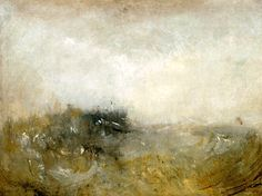 Rough Sea / JMW Turner