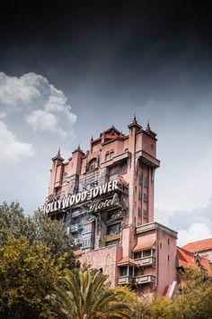 Hollywood Studios Tower of Terror at Disney World.