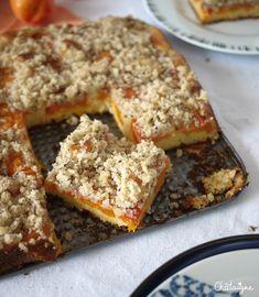 Crumbcake aux abricots et graines de sésame - Blog de Châtaigne
