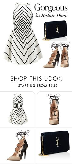 """""""Gorgeous in Ruthie Davis shoes"""" by cecilialukas ❤ liked on Polyvore featuring…"""