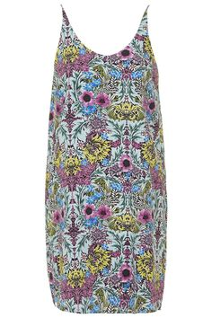 Tropical Floral Print Slip Dress | TOPSHOP saved by #ShoppingIS