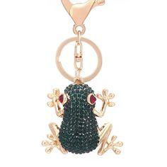 Pendant Handbag Keyring Frog