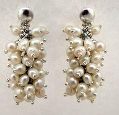 Pearl Earrings, Pearls, Jewelry, Fashion, Crystals, Stud Earrings, Feminine, Jewels, Accessories