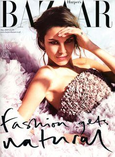 Alexa Chung on Bazaar Cover