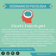 Dizionario di #Psicologia: #GiochiPsicologici.