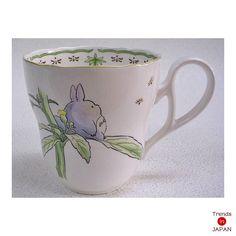 New Totoro Mug Cup Noritake Japan My Neighbor Totoro Studio Ghibli 89555C 9432 2   eBay