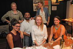 Filmteractive 2014 speakers and commissioners, from the left: Charlotte Appelgren (Cine-Regio, Denmark), Belen Santa-Ollala (Conductrr, UK), Adipat Virdi (Transmediasphere, UK), Lucia Haslauer (ZDF, Germany) Urszula Lubinska and Sophie Rayers (Brightcove)