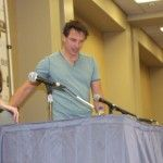 John Barrowman is freaking awesome. The universe isn't big enough to hold his sheer mega-fucking-awesomeness or his banana hammock. John Barrowman, Freaking Awesome, Comics, Comic Con, Comic Book, Comic, Comic Books, Graphic Novels