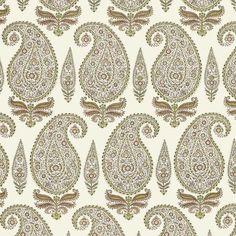 Prints @ Michael S Smith Inc | Jasper Fabrics |  Kashmir Paisley