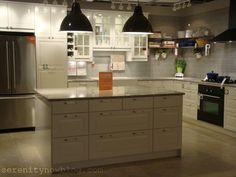 Ikea kitchen island w drawers Kitchen Dining, Kitchen Island, Kitchen Cabinets, Ikea Decor, Serenity Now, Kitchen Remodel, Beautiful Homes, Kitchen Ideas, Kitchen Inspiration