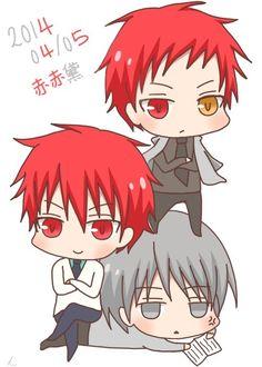 Akashi x2 & Mayuzumi