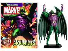 Magazine #132 Annihilus with Figure