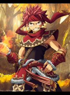 Fairy Tail Natsu The Fire Burns by IITheYahikoDarkII