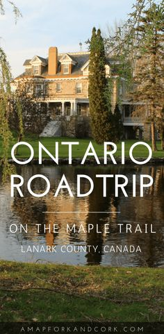 It goes without saying that Canadians are well known for their maple syrup. In Ontario, Lanark County is known as the province's Maple Capital. Keep on reading to find out how to plan your weekend getaway on Lanark County's Maple Trail. Vancouver, Toronto, Quebec, Travel Guides, Travel Tips, Travel Hacks, Travel Gadgets, Travel Abroad, Calgary