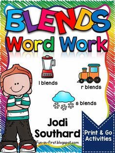 Blends Word Work Packet