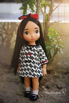 Pocahontas in her cute jacket. Created by  Pruchanun Rahothan