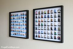 Got LEGO minifigures? We do. And I'm not going to tell you how many because it would be very, very embarrassing. Actually, I'm not sure that we could even come up with an accurate count. Aidan himself owns over 100. Then the other boys have their own collections and then there are the ones I …