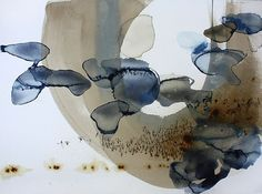Ana Zanic, Origin Cloud (W-2012-7-10) 2012, Watercolor and ink on paper