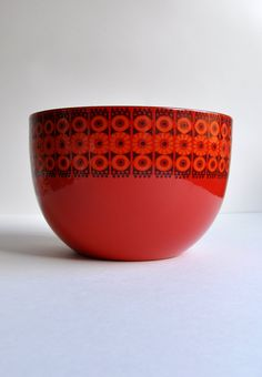 "arabia finland Finel ""Daisy"" Bowl by Kaj Franck to go with mushroom bowl!"