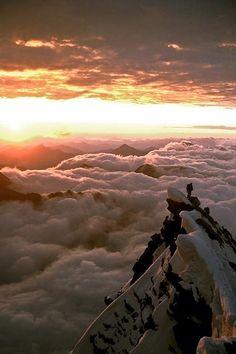 _ (1)._._1 | Summit of the Gross Glockner, Austria, at sunri… | intnvs | Flickr