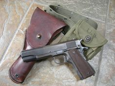 Colt .45 If you have the funds, this should be your #1 gun.