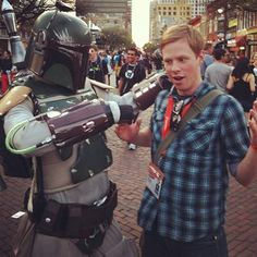 Boba Fett came to collect his bounty!