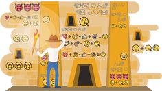 Icons. Sometimes a host of icons, make you feel like you are in an Egyptian pyramid once you enter a site…