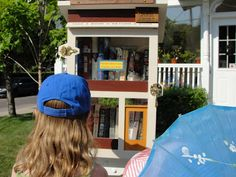 Discovering our little free library  Want to start one in Dublin!
