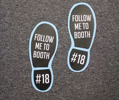 Events and trade shows could greatly benefit from floor graphics like these! Does your business host an event that needs decals like these? Let us know: http://www.godecals.net/vinyl-floor-graphics-advertising