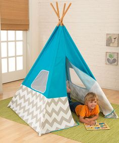 How long have I wanted one of these tepees...I mean, wanted one of these for my kids?!!