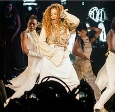 Janet Jackson killing it on stage in Vancouver opening night of the Unbreakable world tour!!!
