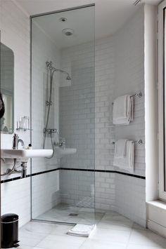 43 ideas bath room design hotel apartment therapy for 2019 Hotel Bathroom Design, Design Hotel, Hotel Bathrooms, Bath Design, Tile Design, Interior Exterior, Home Interior, Bathroom Interior, Bad Inspiration