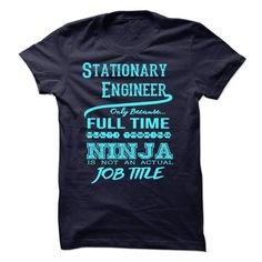 Stationary Engineer T-Shirts, Hoodies. GET IT ==► https://www.sunfrog.com/LifeStyle/Stationary-Engineer-T-Shirt.html?41382