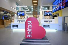 One of the most interactive tourist information centres out there!  #VisitBelfast