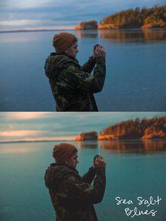Sea Salt Blues Film Photoshop Curve Preset