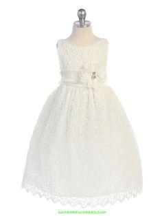 flower girl dresses   Flower Girl Dresses, Communion Dresses, Pageant Dresses - Ivory ...