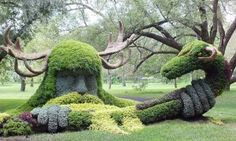 Montreal Botanical Garden's living sculptures are insanely surreal - Posted on Roadtrippers.com!
