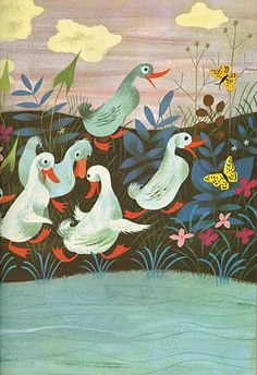 DUCK-WALK , Mary Blair