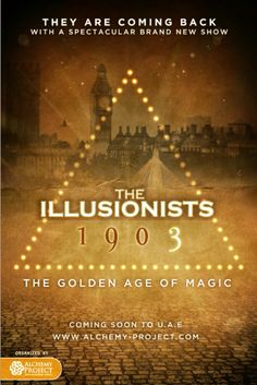 The illusionists 1903