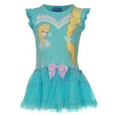 Girls Disney Frozen Elsa Tutu Princess Dress with Ruffle Sleeves, Bow Detail And a Pretty Elsa print to the chest. Disney Shirts For Family, Shirts For Girls, Frozen Outfits, Frozen Clothes, Disney Dresses, Girls Dresses, Bathing Suits For Teens, Chelsea, Cinderella And Prince Charming