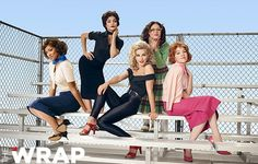 Vanessa Hudgens, Keke Palmer, Julianne Hough, Kether Donohue & Carly Rae Jepsen (From Grease Live) for The Wrap