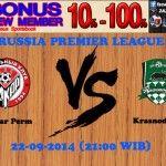 Prediksi Bola Amkar Perm vs Krasnodar FK 22-09-2014 RUSSIA PREMIER LEAGUE