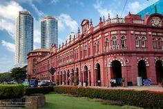 Old+cargills+building+of+colonial+city+of+Colombo+-+Sri+Lanka+(+Ceylon+)